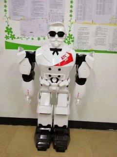 3D打印机器人手板模型