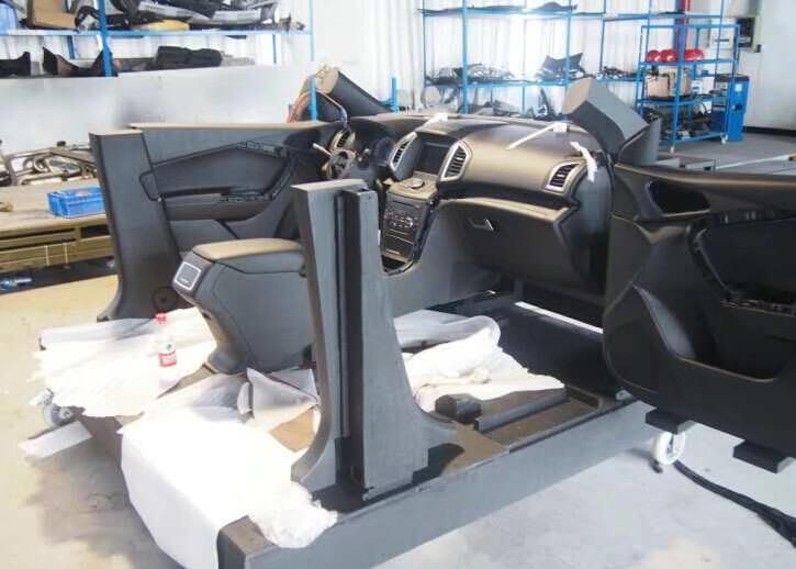 汽车展车手板模型案例