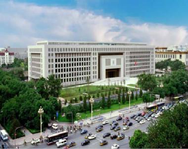 北京天安门公安部办公楼