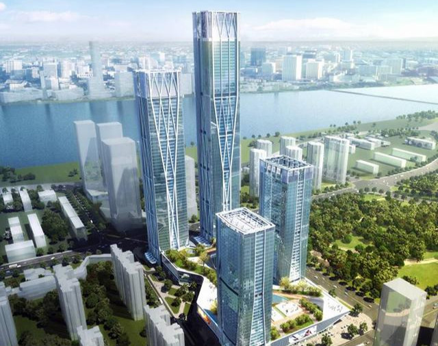 长沙滨江国际金融中心