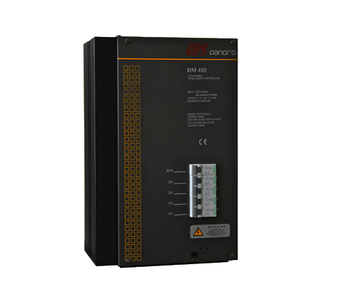 DM410 4 回路 10A/路 可编程后沿相控调光控制器