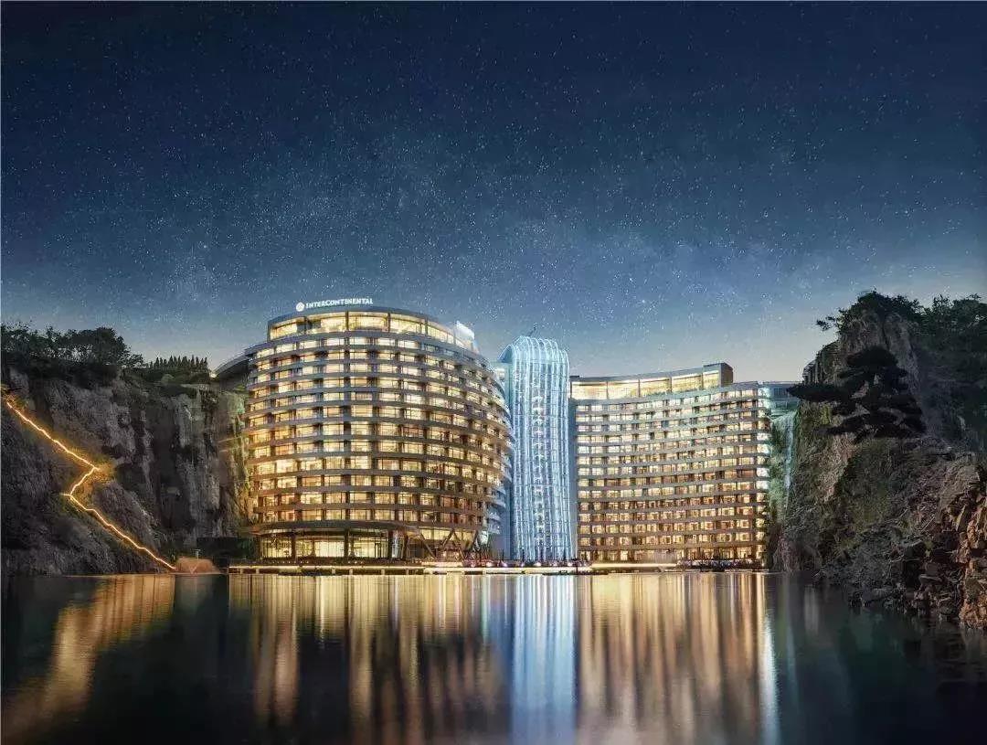 唯鬼才,才敢这样设计!—上海佘山世茂深坑洲际酒店