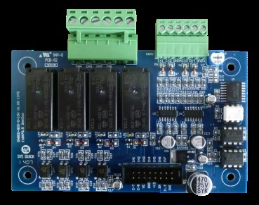 HU002.1.4S 0-10V输出扩展板