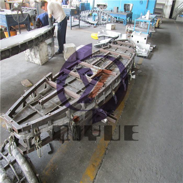 定制皮划艇铝模模具