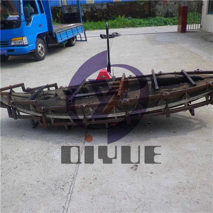 定制塑料皮划艇铝模模具