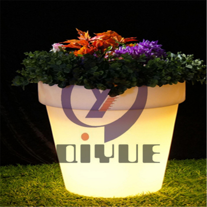 户外滚塑LED花盆定制价格