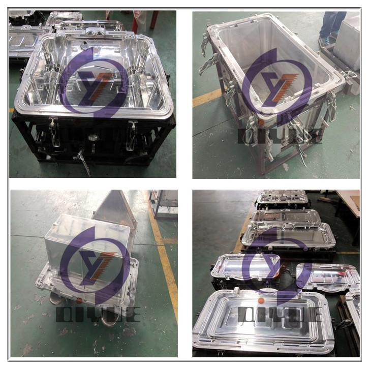 定制滚塑冷藏箱模具加工