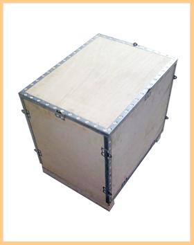 钢带、钢边木箱