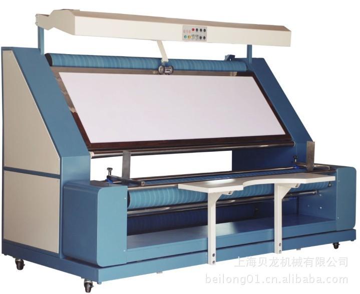 无涨力针织布验布卷布机 松布机记米记数器检验、计米、打卷一体