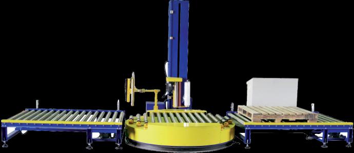 全自动水平式缠绕包装机