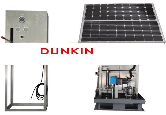 太阳能供电控制盘