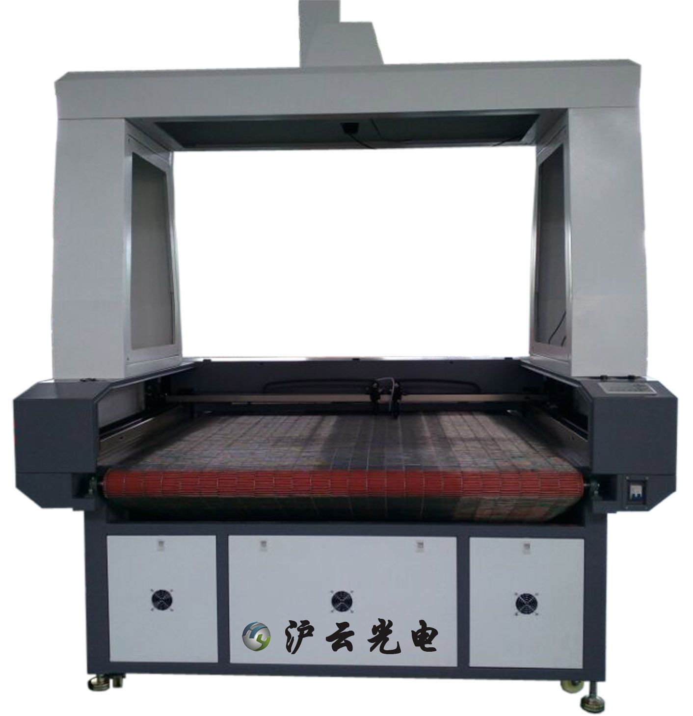 Vision positioning co2 laser cutting machine