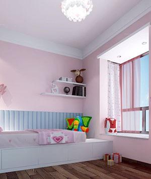 儿童房内墙刷新案例