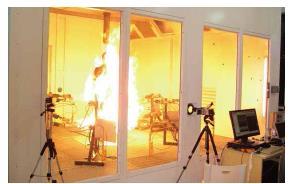 火焰和高温人体模型