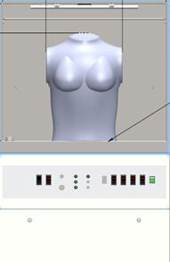 女性文胸舒适度测试装置