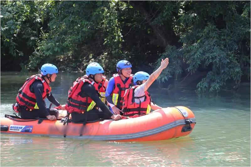 RT11水域救援演练