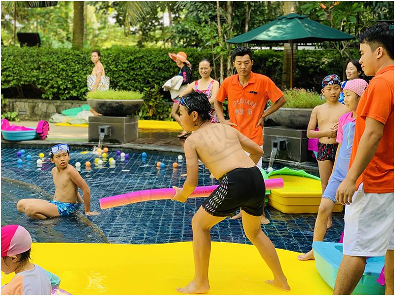 水上浮毯娱乐