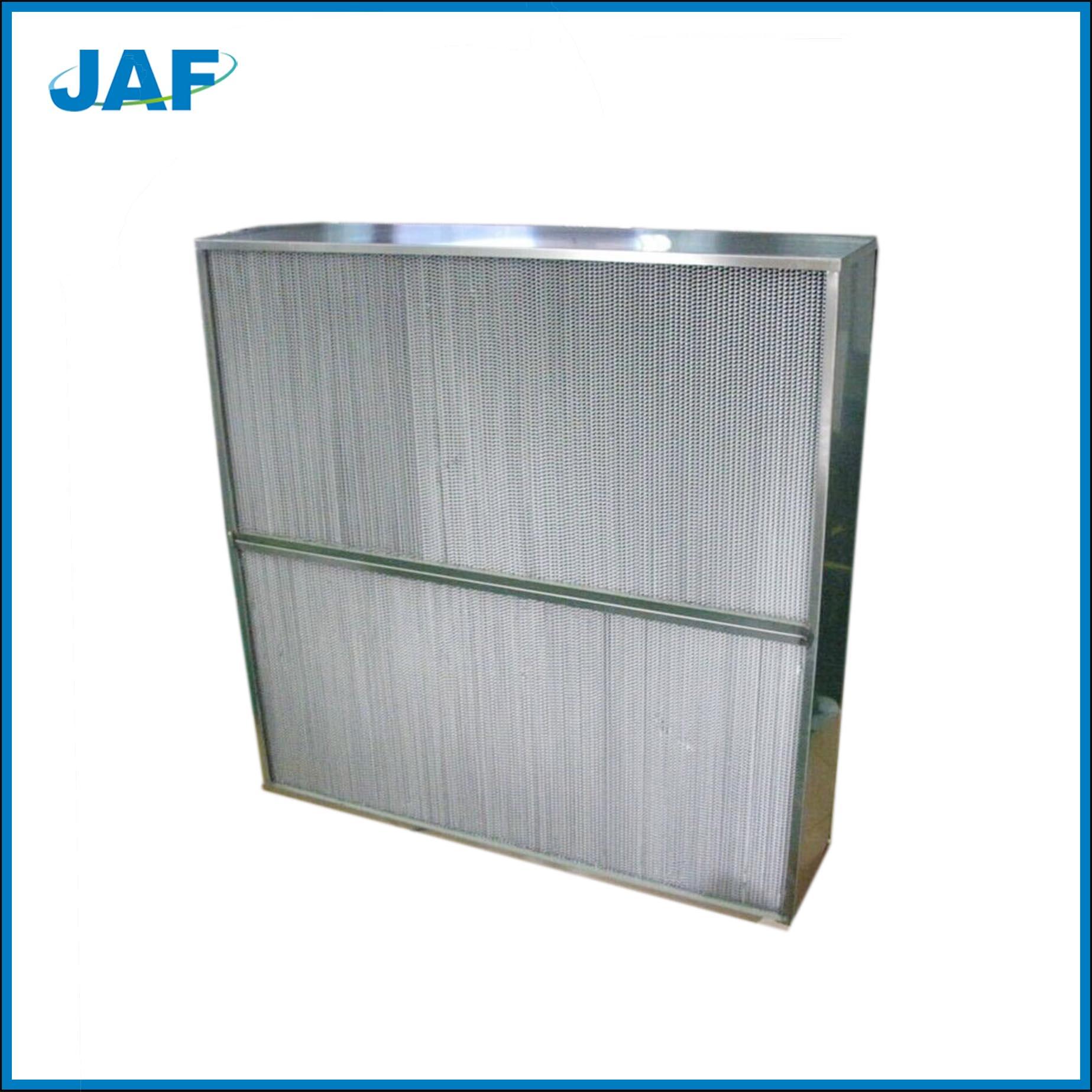 镀锌框高效过滤器
