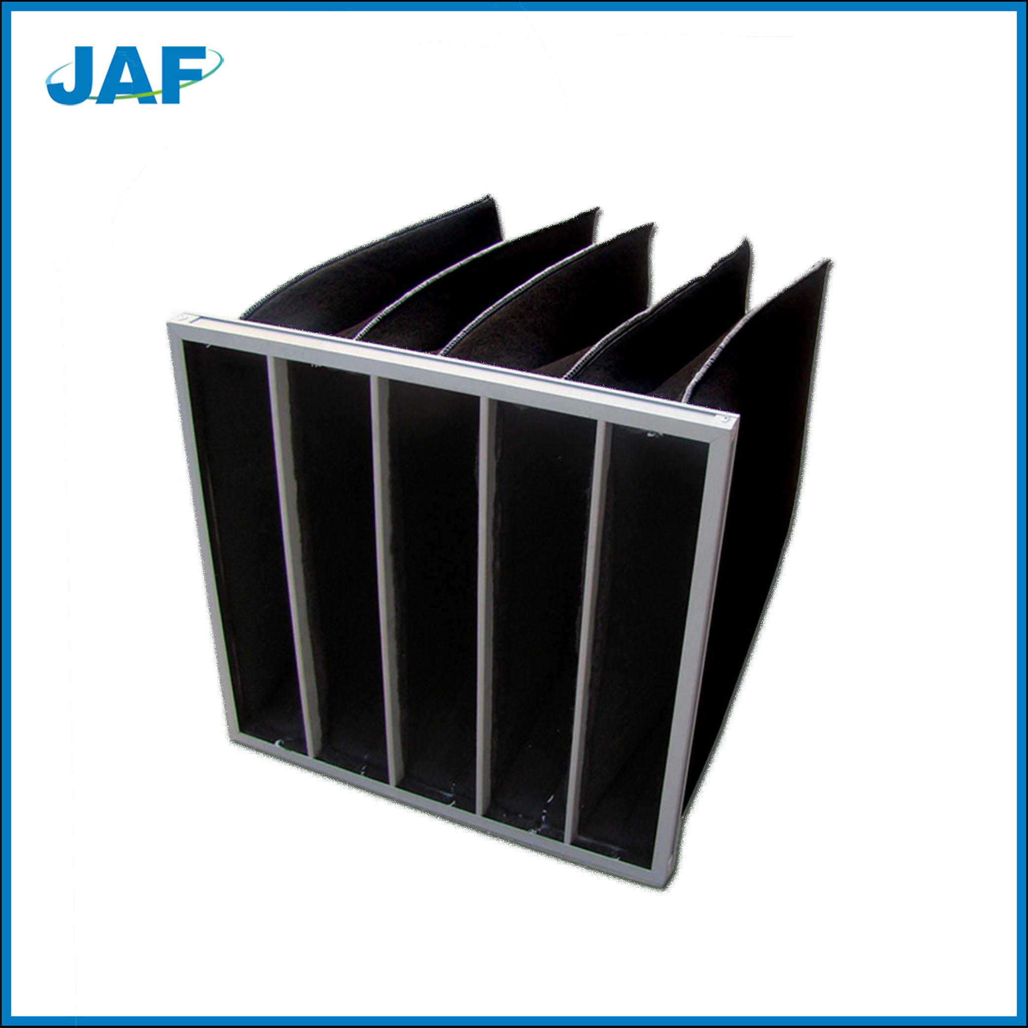 蜂窝活性炭过滤网和活性炭袋式过滤器的特点