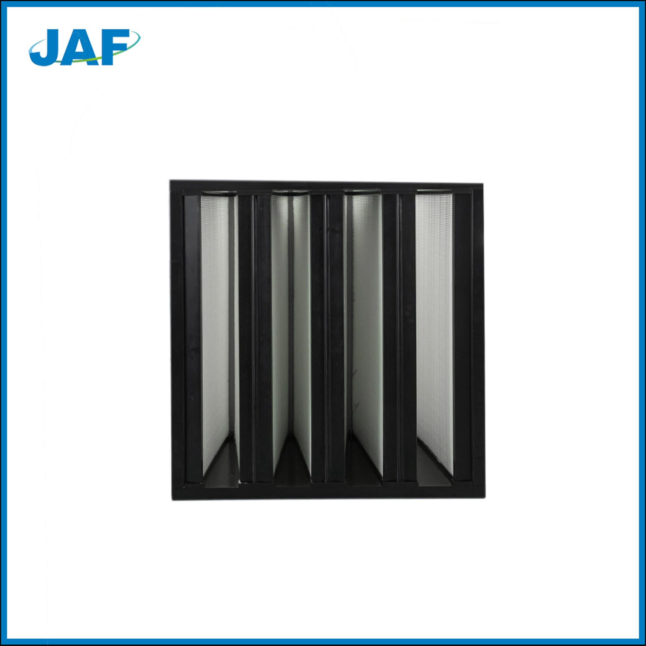 塑料框V型过滤器在无尘室应用的成功案列