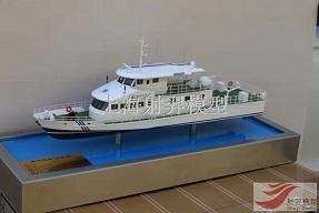 海监船模型制作
