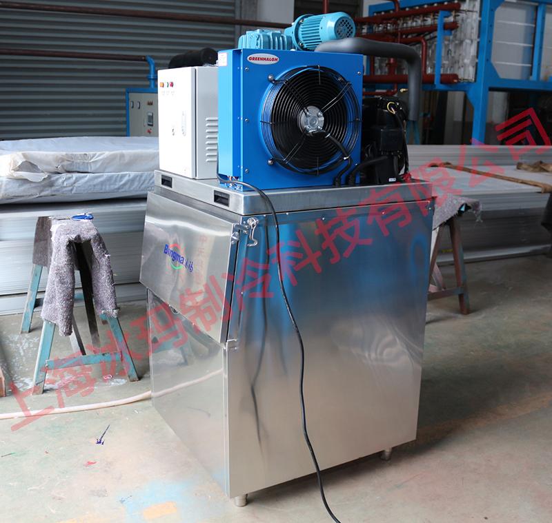 200公斤商用片冰机交付福建客户