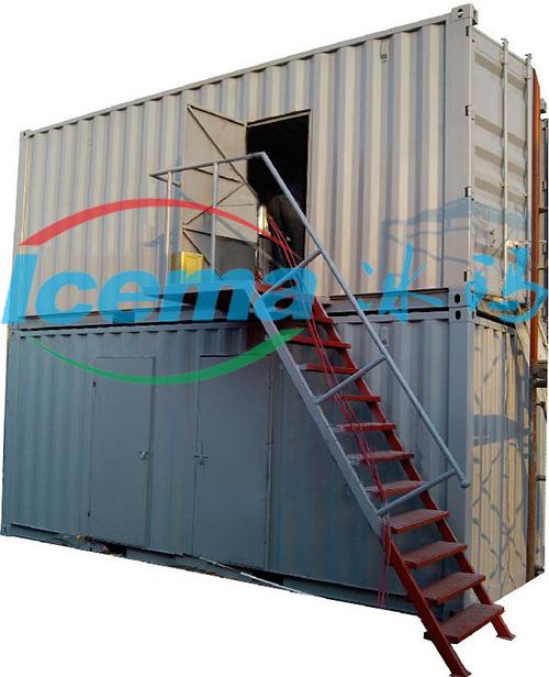 日产冰量30吨片冰机_集装箱片冰机