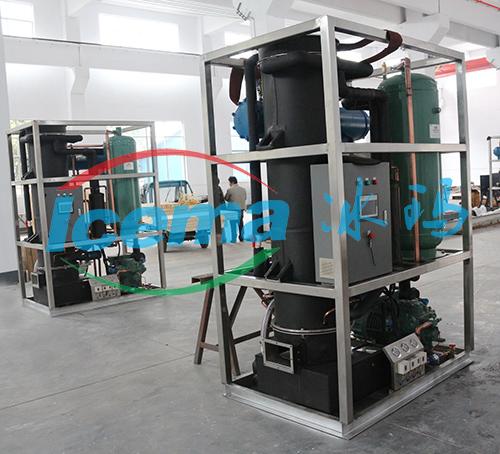 冰瑪日產5噸商用管冰機交付福建客戶