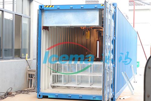 日產10噸集裝箱塊冰機/冰磚機