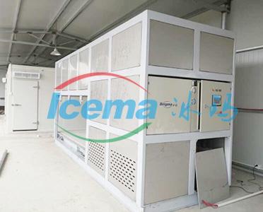 日产4吨直冷式块冰机交付苏州客户