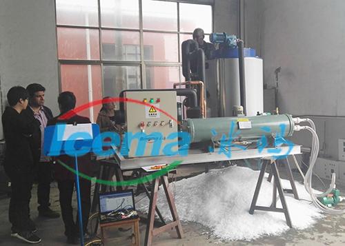 5噸淡水片冰機交付國外客戶