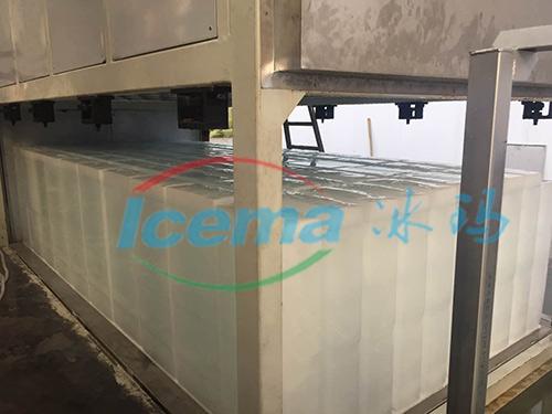 直冷式块冰机杭州安装现场