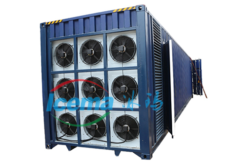 集裝箱塊冰機-鹽水式塊冰機