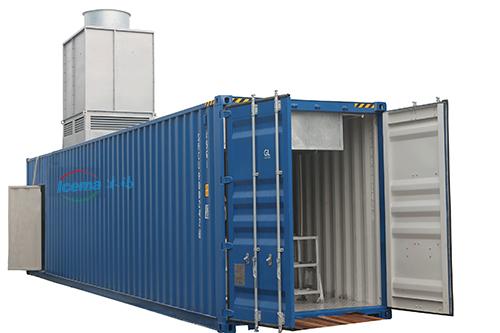 10噸集裝箱式鹽水塊冰機/鹽水式製冰機