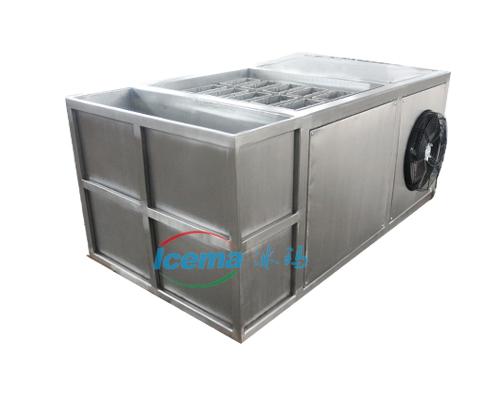 透明盐水式块冰机