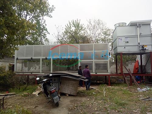 15吨直冷式块冰机交付安徽客户