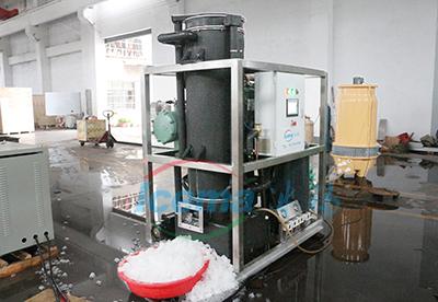 5吨管冰机工厂测试