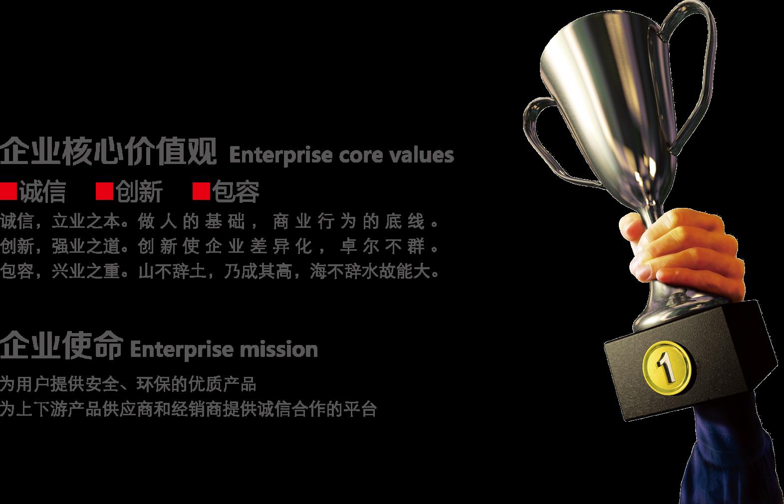 淄博中矿核心价值观和使命