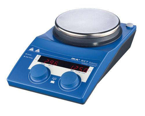 RET 基本型加熱磁力攪拌器 (不銹鋼, 安全溫度控制型)