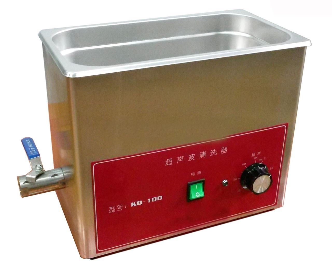 KQ-100旋鈕型臺式超聲波清洗器