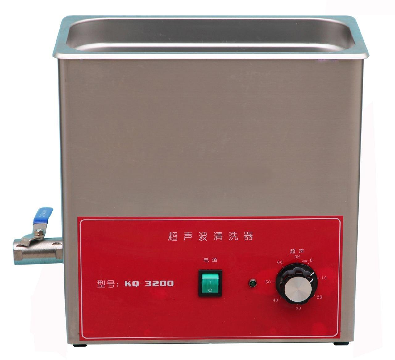 KQ3200旋鈕型臺式超聲波清洗器