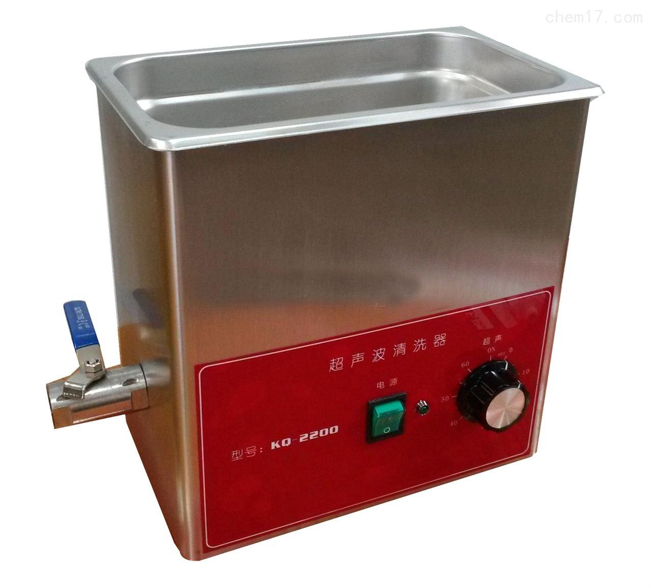 KQ2200旋鈕型臺式超聲波清洗器