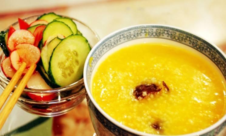 冬天一碗杂粮小米粥,清新温暖过一冬!