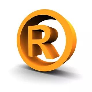 红色商标R