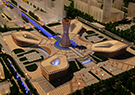 中国古建筑乐高模型国庆限时展开幕