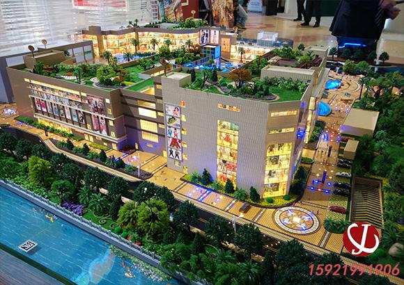 商业广场模型