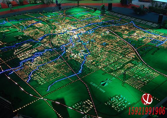 互动投影沙盘在城市规划设计应用