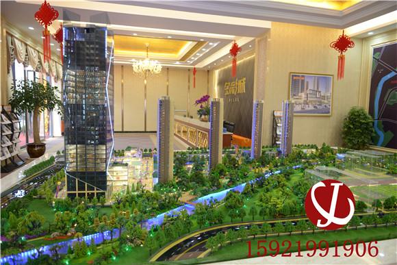 诸暨多彩城模型