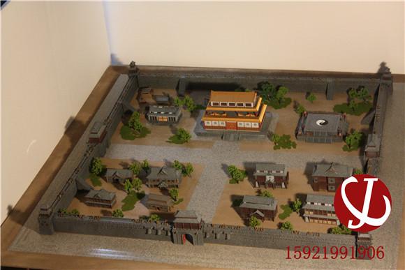 盛大沙巴克城模型