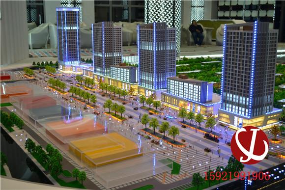 建筑轮廓灯模型